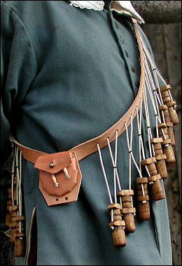 click to read description & to see list of choices for your the bandolier.
